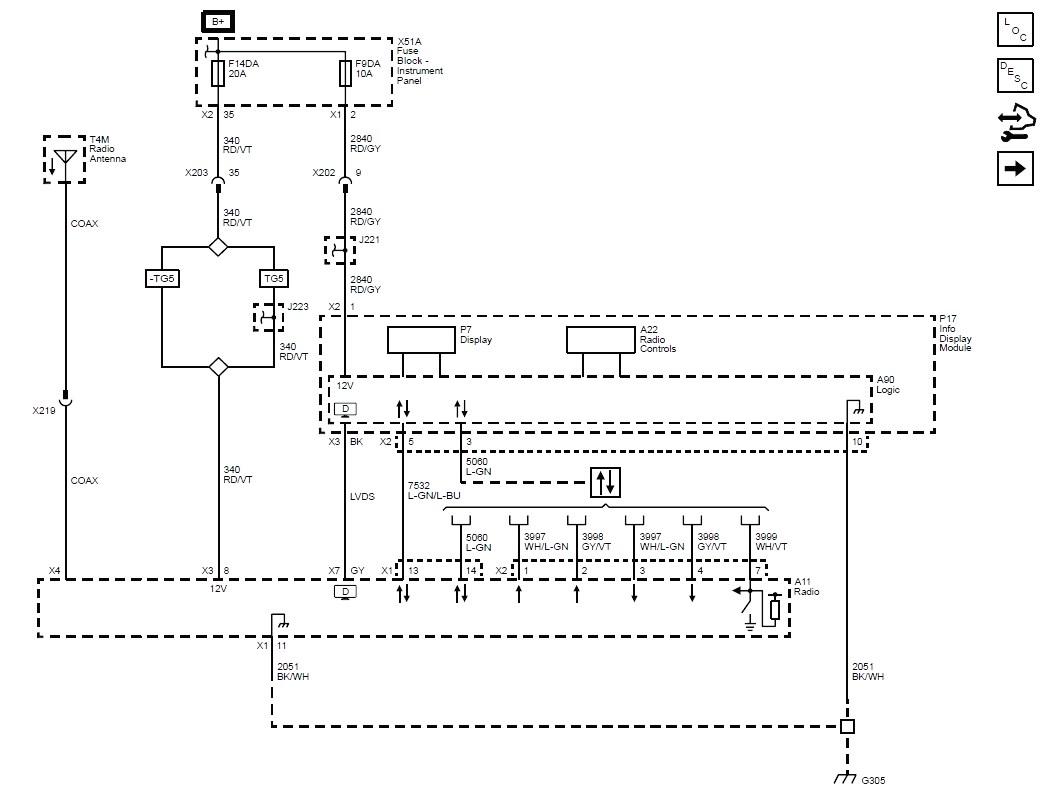 X3 Radio Wiring Diagram