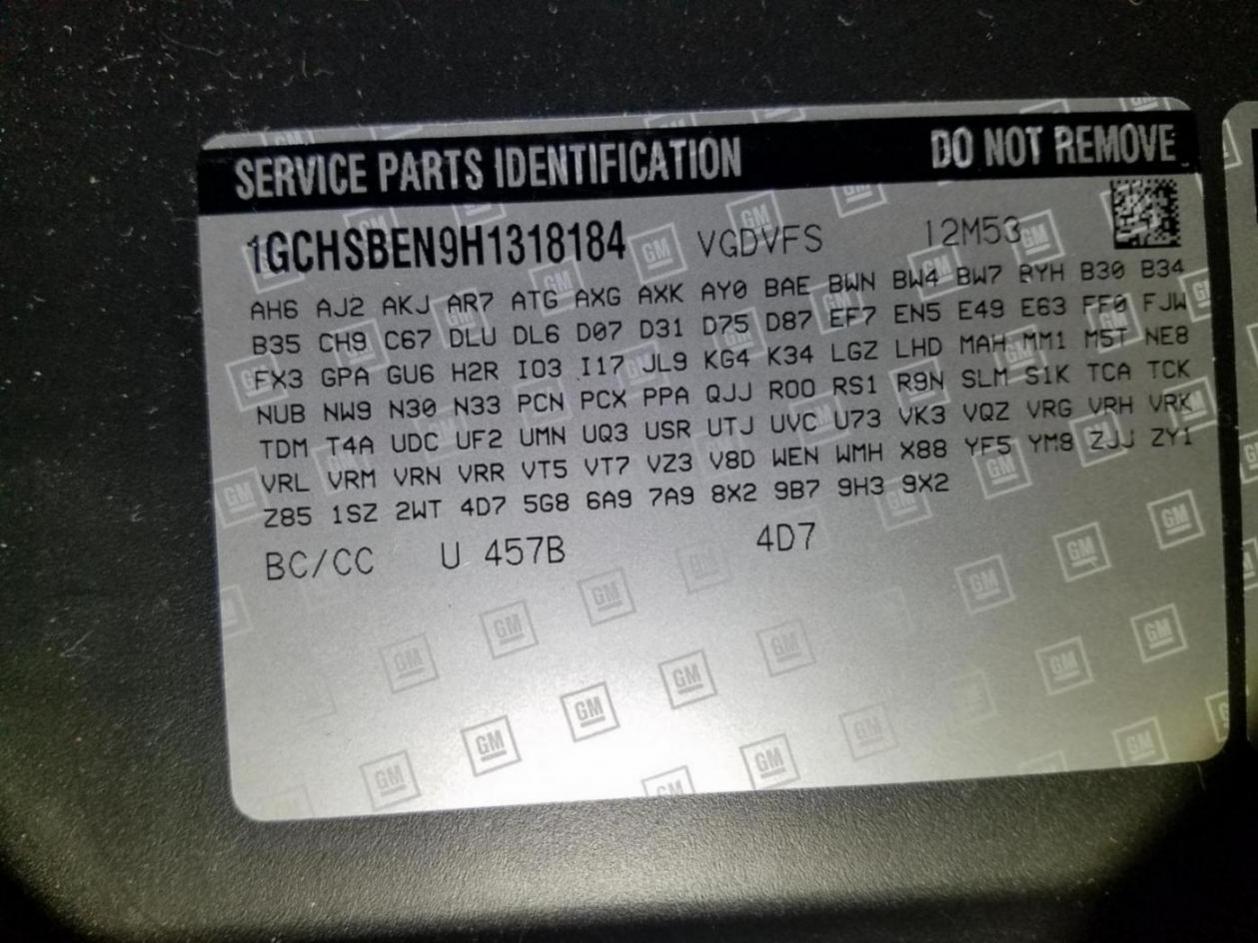 Missing RPO codes | Chevy Colorado & GMC Canyon