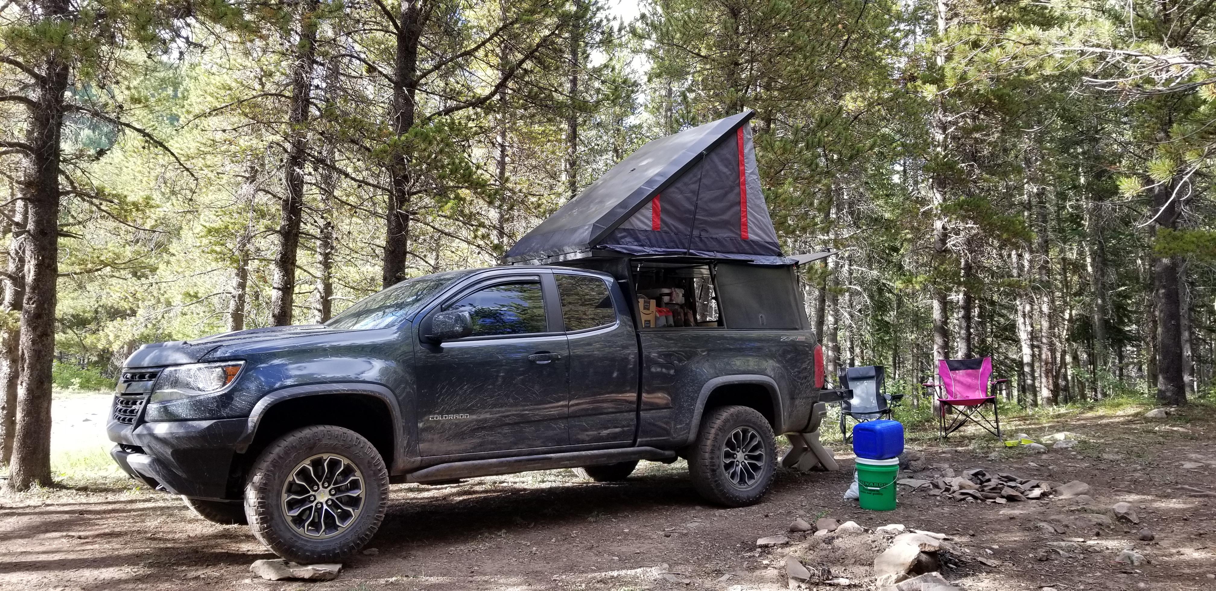 Br4d4ss Camper Build Chevy Colorado Gmc Canyon