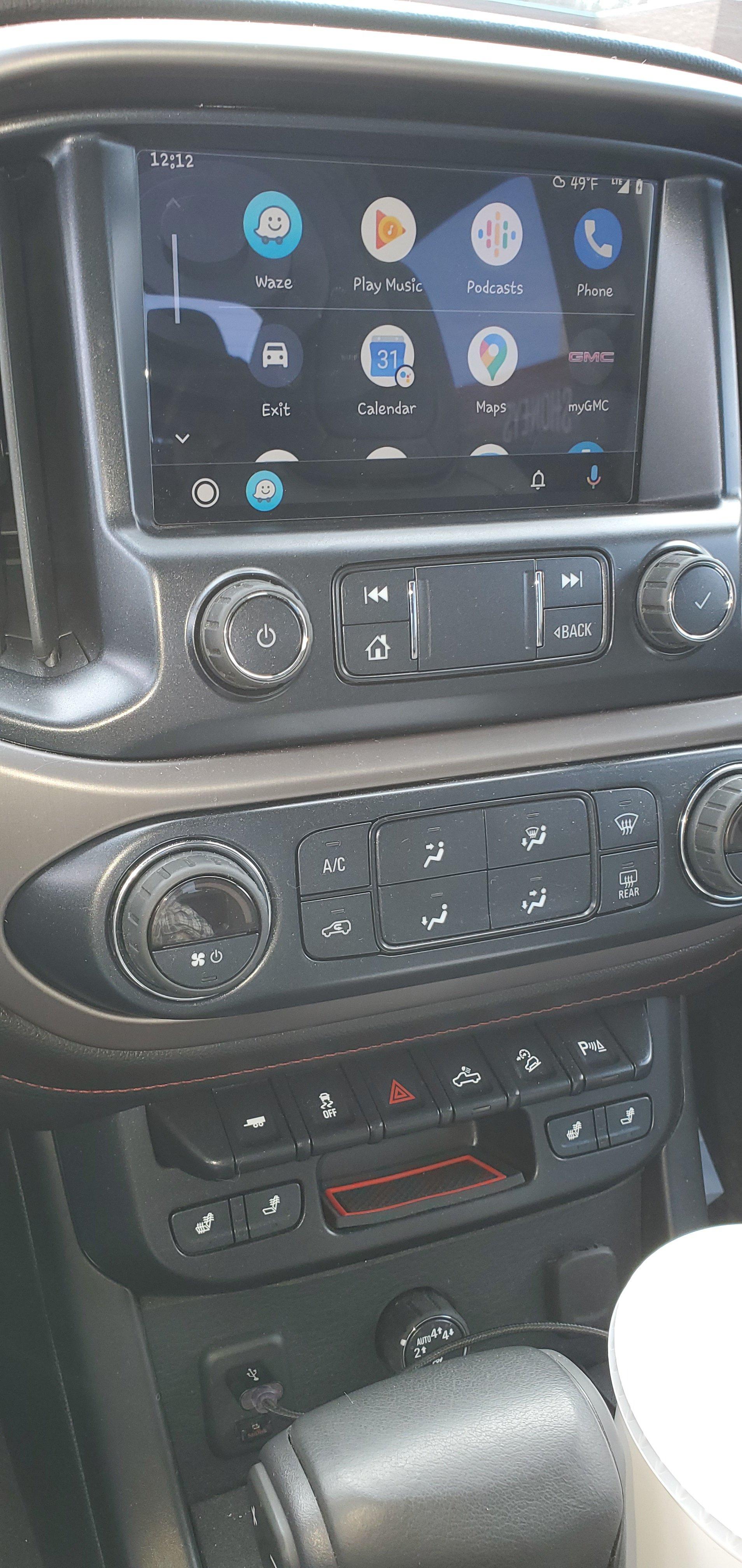 Android Auto Chevy Colorado Gmc Canyon