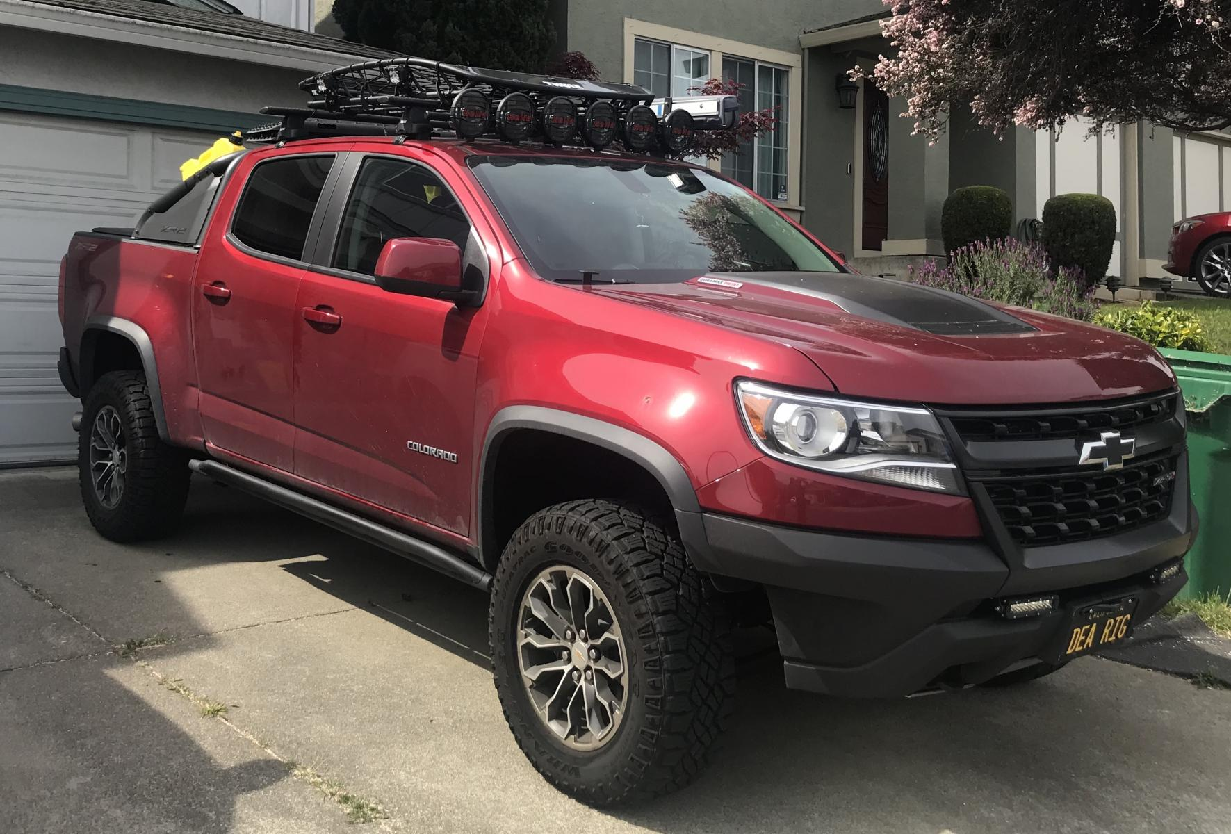 Roof Rack Anyone Page 2 Chevy Colorado Gmc Canyon
