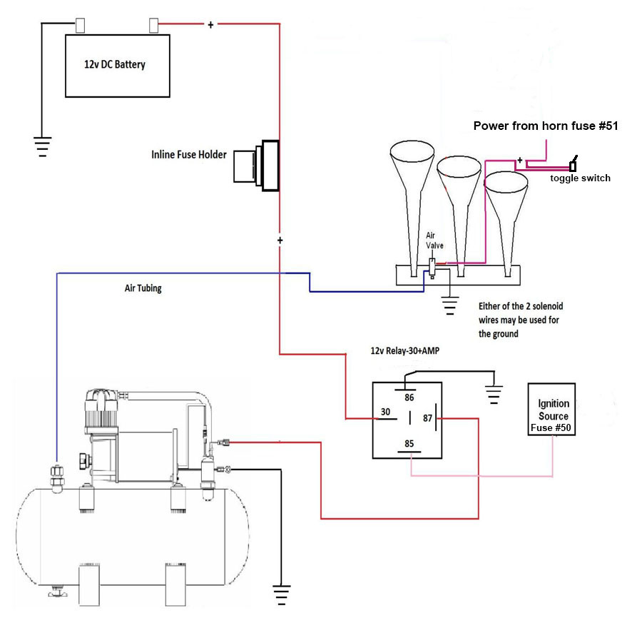Wolo Air Horn Wiring Diagram from www.coloradofans.com