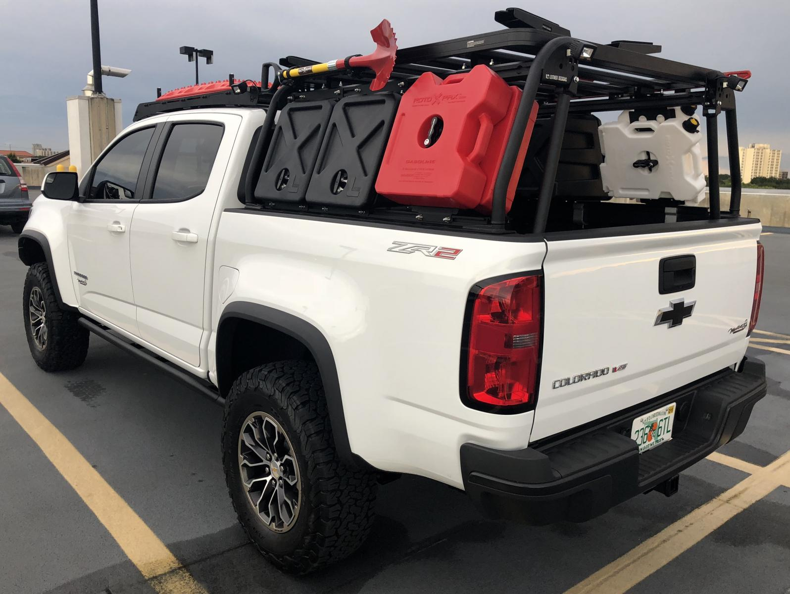 Leitner, Front Runner and Prinsu Racks | Chevy Colorado & GMC Canyon