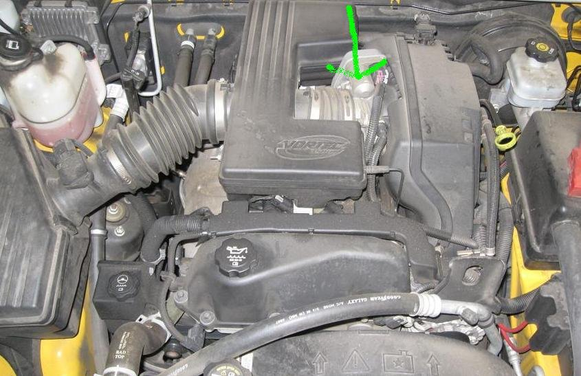 Cleaning Throttle Body   Chevy Colorado & GMC Canyon