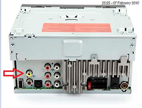 Io3 backup camera to aftermarket radio | Chevy Colorado