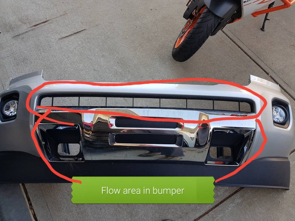 Removable cooling panel for diesels | Chevy Colorado & GMC Canyon
