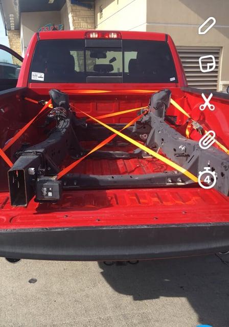 Frame replacement   Chevy Colorado & GMC Canyon