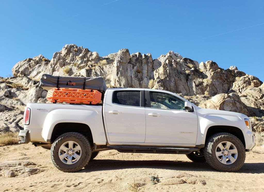 How to lift your Colorado or Canyon and what tires fit