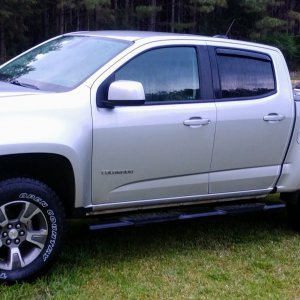 2016 Z71 leveled with new tires