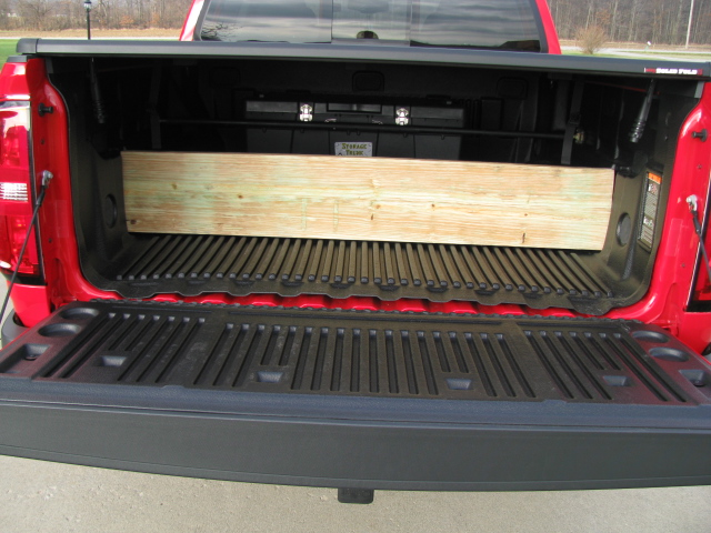 Gm Bed Liner With Toolbox And 2x10 Devider